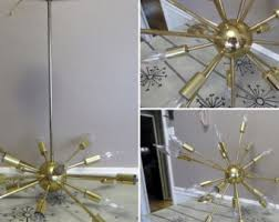 Atomic Chandelier Sputnik Lighting Etsy