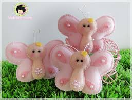 borboletas bebes pinterest felting christmas ornament