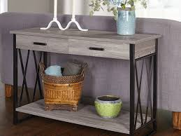 Storage Console Table by Sofa 34 Sofa Table Wood Drawer Storage Console Hallway