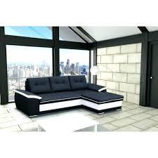 canapé d angle noir et blanc pas cher canape d angle noir et blanc design canapac dangle