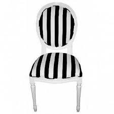Black And White Striped Dining Chair Black And White Striped Losange Chair