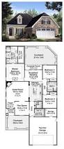 european house plans one story apartments house plans with two living areas modern house plan