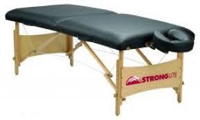 Oakworks Nova Massage Table by Stronglite Standard Massage Table Package