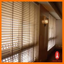 curtain times manual system natural bass wooden venetian window