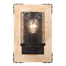 Farmhouse Wall Sconce Rustic U0026 Farmhouse Vanity Lights You U0027ll Love Wayfair