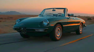 classic alfa romeo spider experience dreaminess with this alfa romeo spider video
