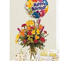 balloons delivered same day flowers birthday bouquet and balloon from american florist same