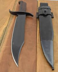 cold steel kitchen knives review cold steel 1917 frontier bowie knife 1055 medieval reenactment