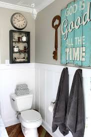 bathroom ideas guest bathroom wall decor with two rattan