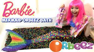 sachi barbie mermaid dolls in orbeez bath kidtoytesters