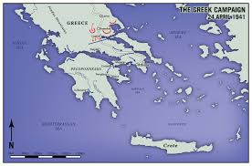 Delphi Greece Map by Eric Olason Mapmaker Cartographic Artist