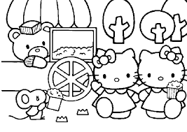 print kitty printable coloring pages download kitty