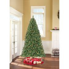 time pre lit 7 5 berkshire pine artificial tree