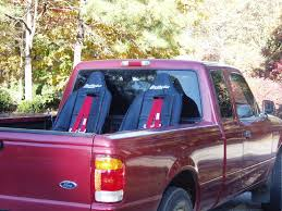 Ford Ranger Truck Seats - bedryder truck bed seating system