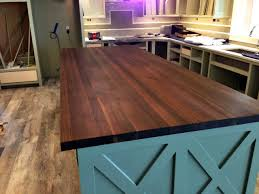refinishing a butcher block countertop modern kitchen 2017 image of fake butcher block countertop