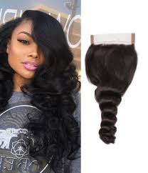 baby hair pre plucked hairline lace closure with baby hair wave