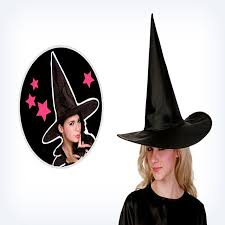 1pc new fashion novelty magic halloween hat wicked witch black cap