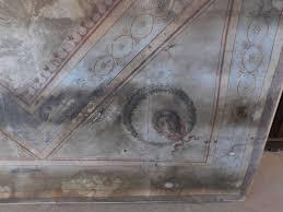 soffitti dipinti darb134 due soffitti dipinti su tela epoca 800 mis lung 380