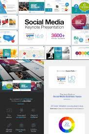 social media keynote template 65539