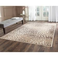 add a ferociously stylish large leopard rug to your interior decor