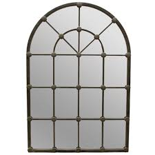 Ideas Design For Arched Window Mirror Interior Decor Metal Frame Arched Window Mirror For Fabulous