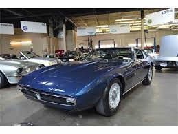 gold maserati ghibli 1970 maserati ghibli 4 7l coupe for sale classiccars com cc