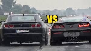stingray camaro chevrolet corvette stingray c7 vs chevrolet camaro ss sound