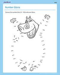number gloria u2013printable worksheet for 1st grade jumpstart