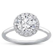 ring plain plain band halo engagement setting r3010
