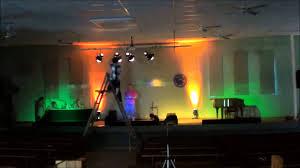 stage lighting setup by o dea