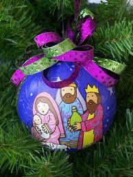 homemade religious christmas ornaments home design inspirations