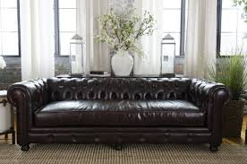 Small Leather Chesterfield Sofa by Darby Home Co Fiske Leather Chesterfield Sofa U0026 Reviews Wayfair