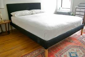 Diy Platform Bed With Upholstered Headboard by Bathroom Rustic Pallet Wood Bed Frame With Wheels With Diy