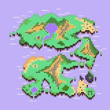 Map Wuest Retro Game Challenge Guadia Quest