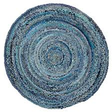 Blue Animal Print Rug Round Area Rugs As Animal Print Rugs With Awesome Blue Round Rug