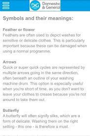 washing machine what do these symbols quora