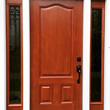 Stain For Fiberglass Exterior Doors Provia Signet Fiberglass Entry Door Stain Color Toffee With