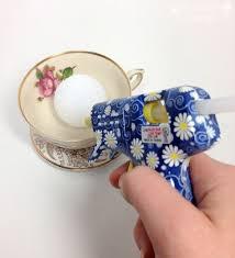 Handmade Tea Cups - handmade gift tutorial tea cup paper flowers plucking