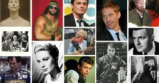 130 celebrities who died in car motorcycle bike or bus accidents