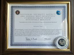 Social Security Research Paper Nsa S Best Scientific Cybersecurity Paper Competition Pt 1
