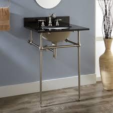 art deco bathroom sink signature hardware