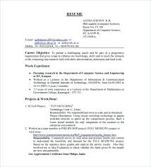 resume exle format sle resume for computer science student fresher resume template