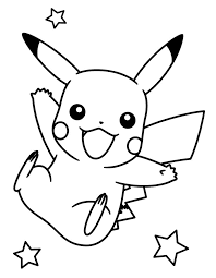pokemon coloring pages pikachu free images coloring pokemon