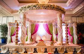 Indian Wedding Mandap Rental Mandap In Durham Nc Indian Fusion Wedding By F8 Photo Studios