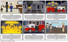 to kill a mockingbird house fire scene storyboard