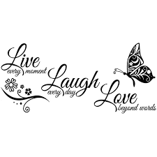 live laugh love live laugh love butterfly vinyls wall stickers the curious home