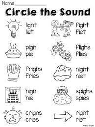 28 best ie and igh sound images on pinterest teaching phonics