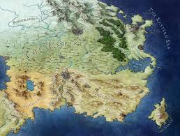 World Map 1500 by Mapping An Ember In The Ashes Fantastic Maps