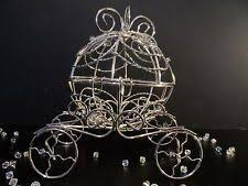 Cinderella Carriage Centerpieces by Fairy Tale Wedding Cinderella Carriage Disney Cake Topper