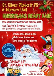 christmas craft fair u0027 at st oliver plunkett u0027s nursery u0026 primary